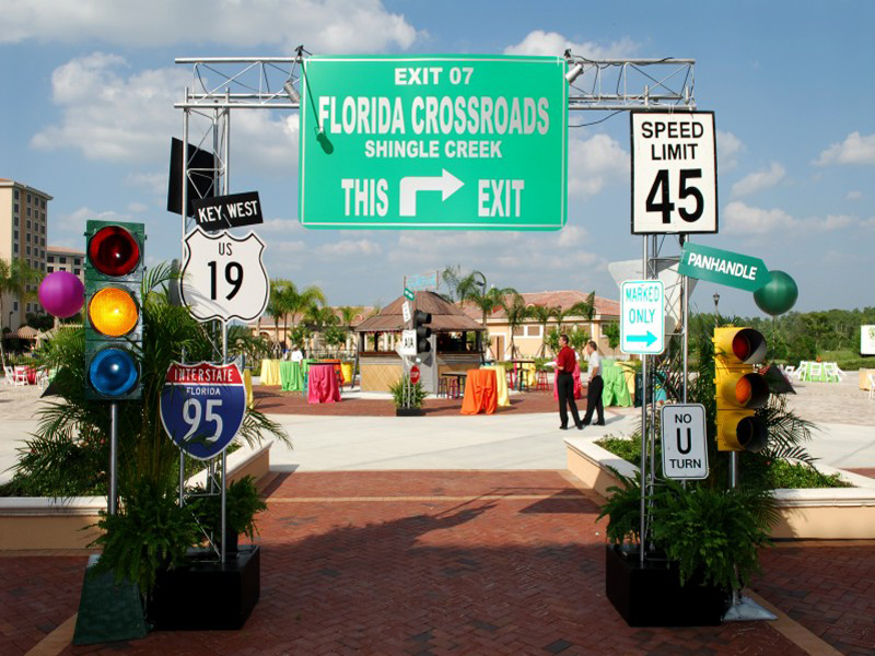 Florida Crossroads Event Themes